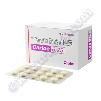 Carloc 3.125 mg oral