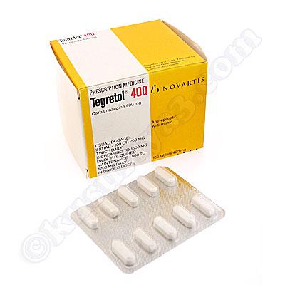 テグレトール 400 (カルバマゼピン)400mg(Tegretol (Carbamazepine ...