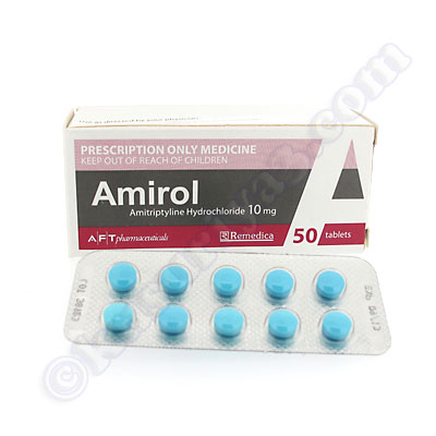 What is amitriptyline hcl 10mg used for